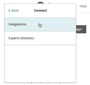 Cursor Clicks - Integrations - Profile Dropdown