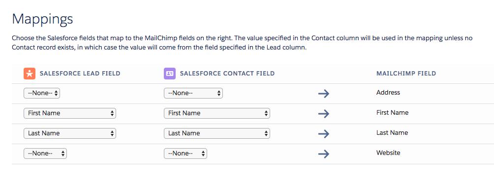 Connect Mailchimp for Salesforce | Mailchimp