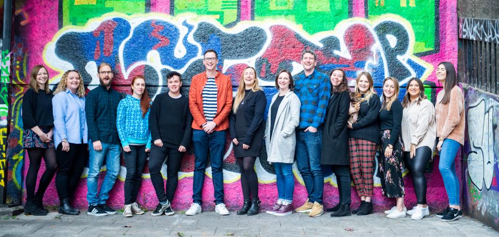 Photograph of the Cobb Digital team