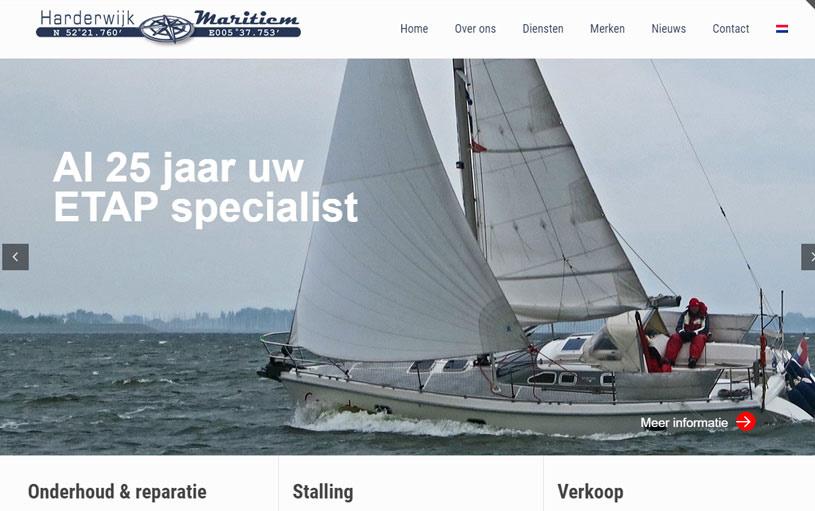 Image of Harderwijk website