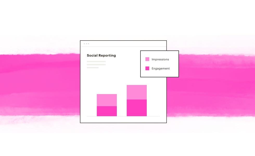 A sample of social reporting.
