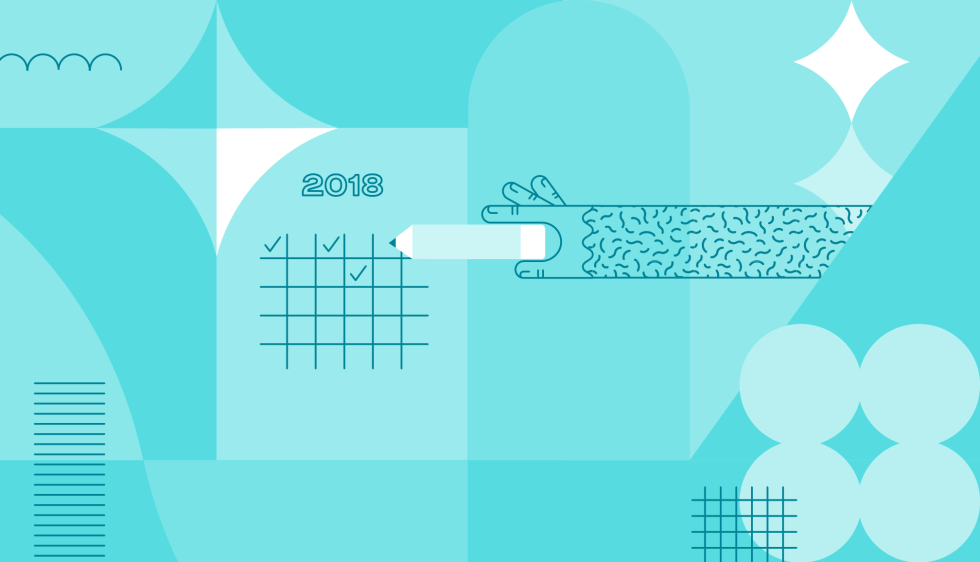 Hero image for New Year, New Goals: 10 Resolutions MailChimp Can Help You Keep