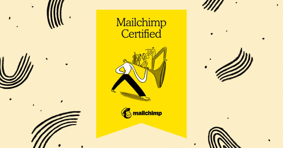 Image of Mailchimp Certified badge