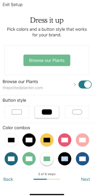 Mobile-landing-page-button-text