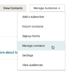 Manage-Audience-dropdown