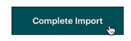 Cursor Clicks - Complete Import - File Upload
