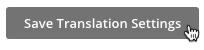 Haz clic en guardar opciones de traducción