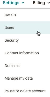 User Details tab