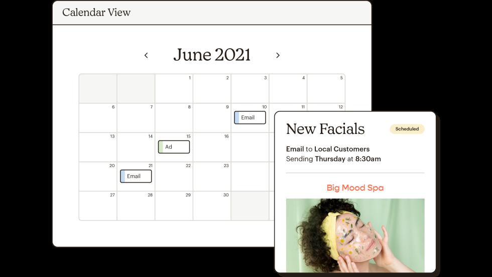 Mailchimp's Marketing Calendar