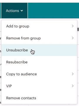 audience-actions-unsubscribe (désinscrire)