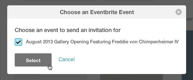 Elegir evento