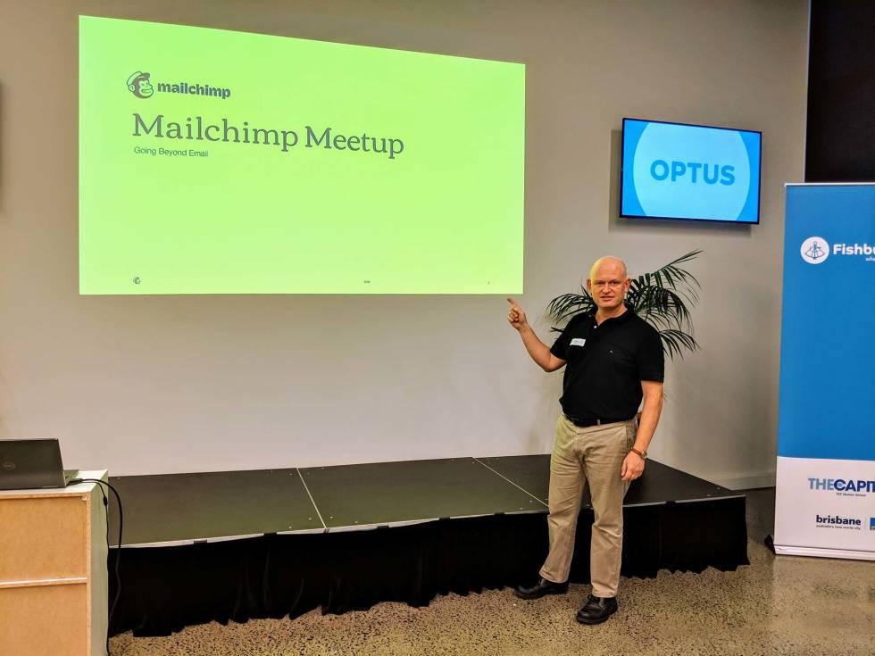 OrganicWeb at a Mailchimp Meetup