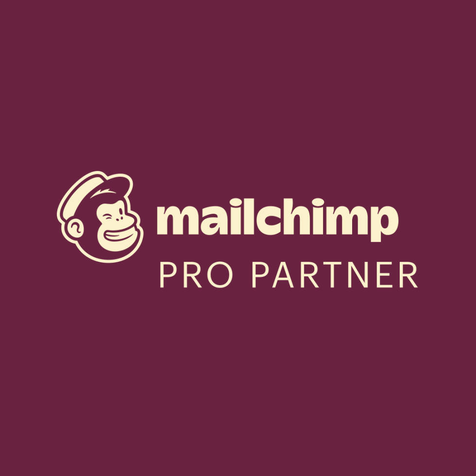 Image of the Mailchimp Partner badge.