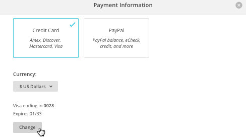 Change Your Account Billing Settings Mailchimp