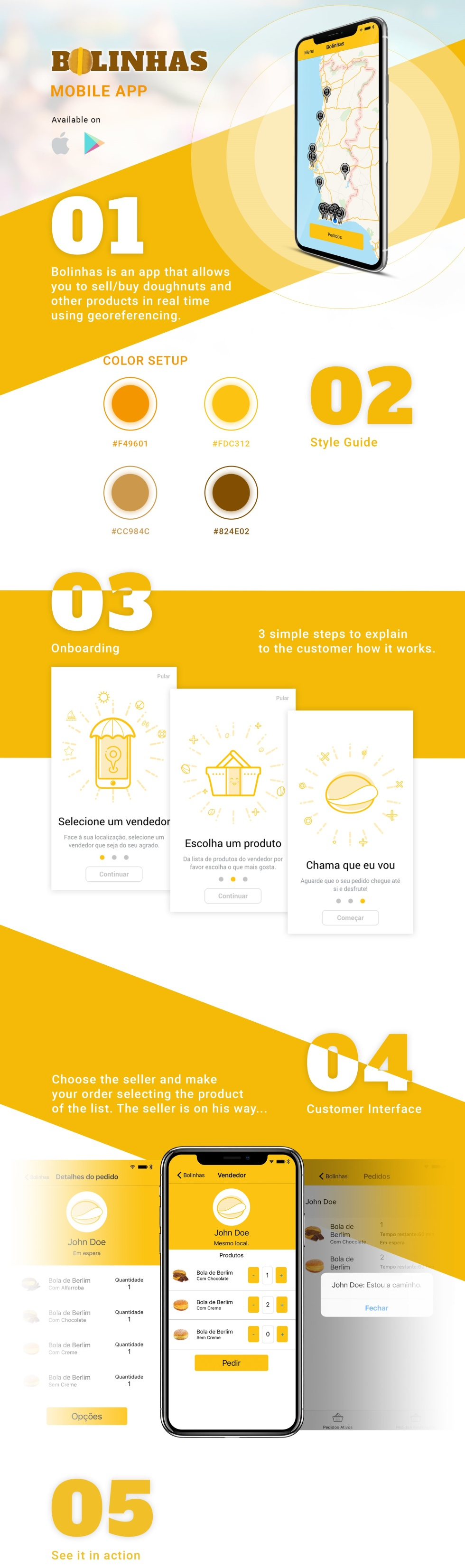 Bolinhas is a mobile app that connects buyers with sellers and wanted to become the go-to platform for small businesses. We built their entire brand, websites, mobile apps and digital strategy. The project went viral and ran in all Portuguese TV channels.