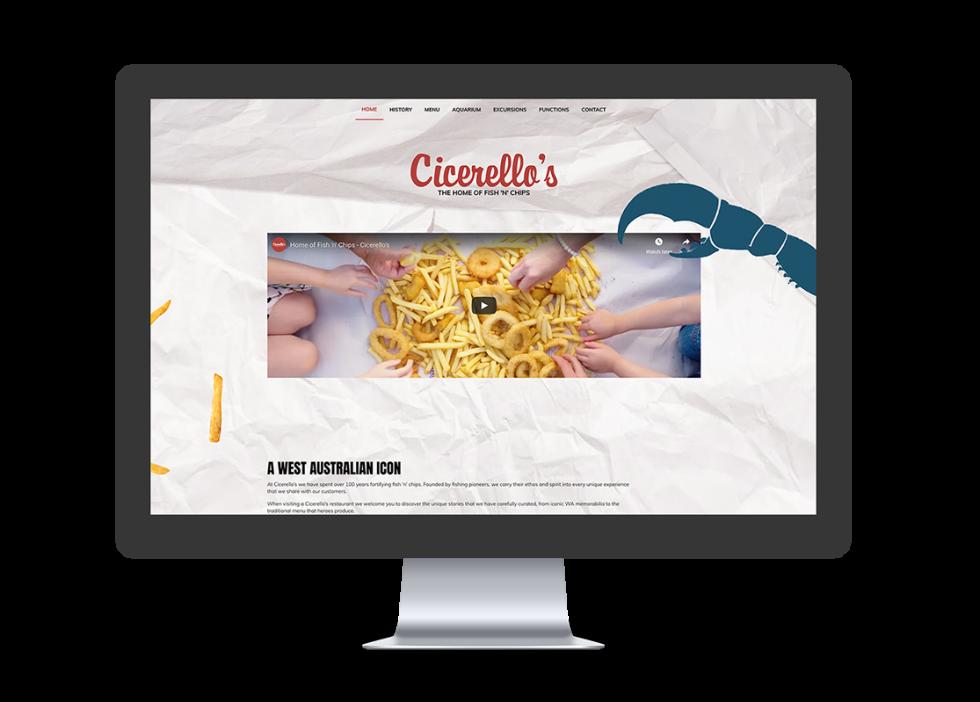 Image of Cicerellas website