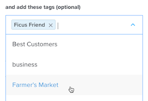Cursor Clicks - Mailchimp Audience Tags in Calendly
