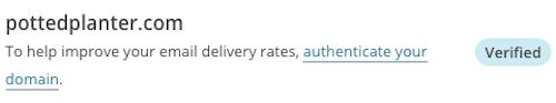 Ajustes de cuenta Dominios de correo verificados Insignia de dominio de correo verificado