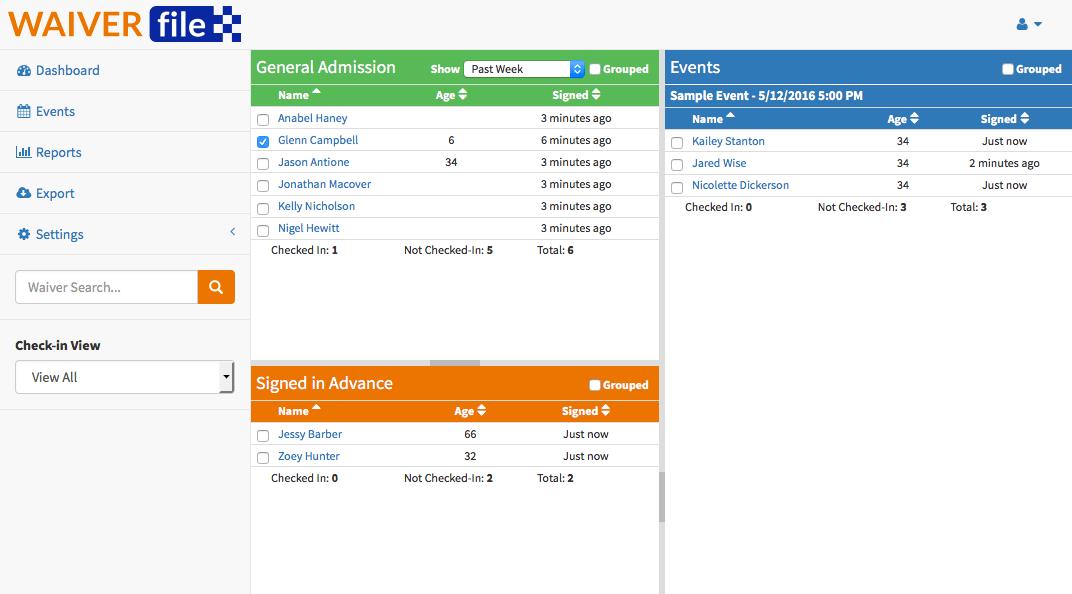 Asset 2 - WaiverFile Integration
