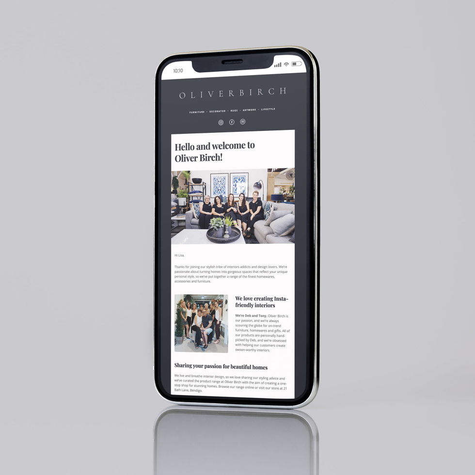 Image of a news article on a phone.