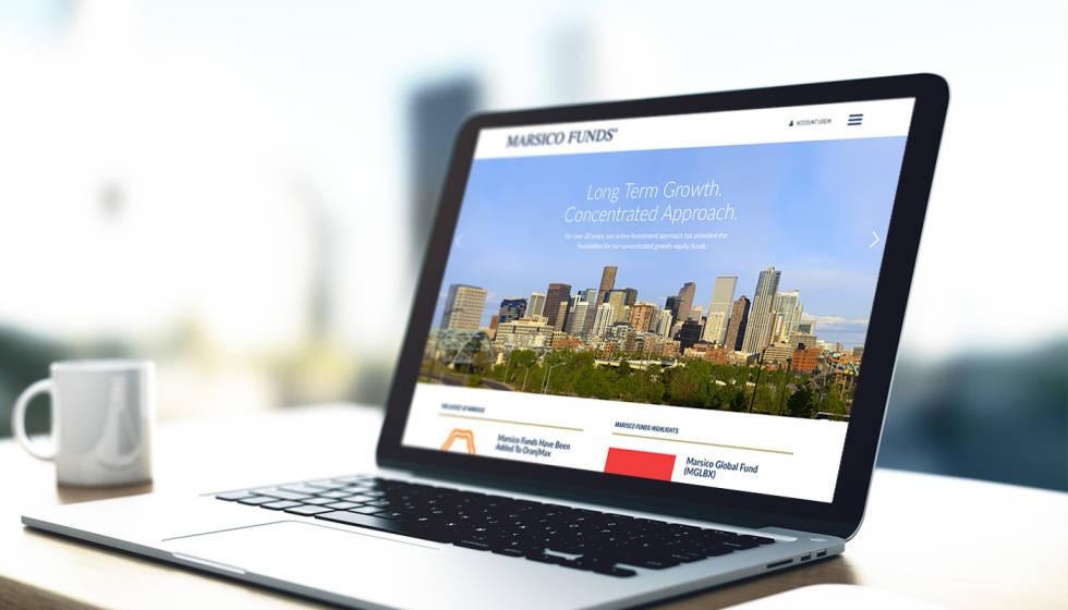 Marisco Funds - Graphic Design, Paid Social, Website Design and Development