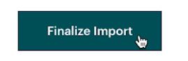Cursor Clicks - Finalize Import - File Upload