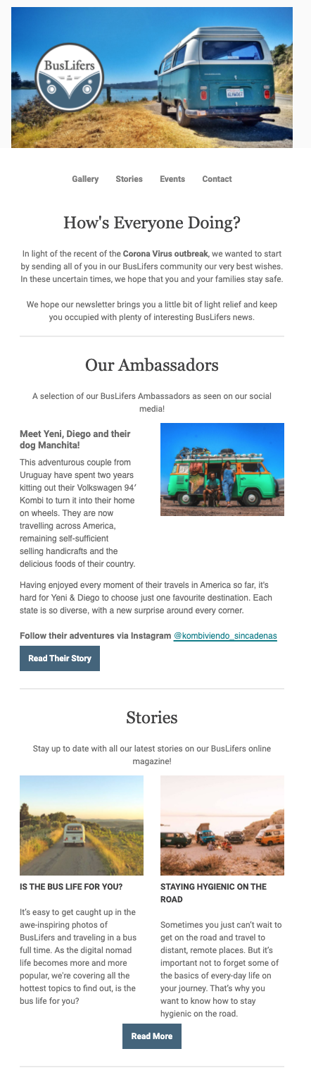 Image of a newsletter