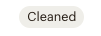 A screenshot of the cleaned badge in a mailchimp audience