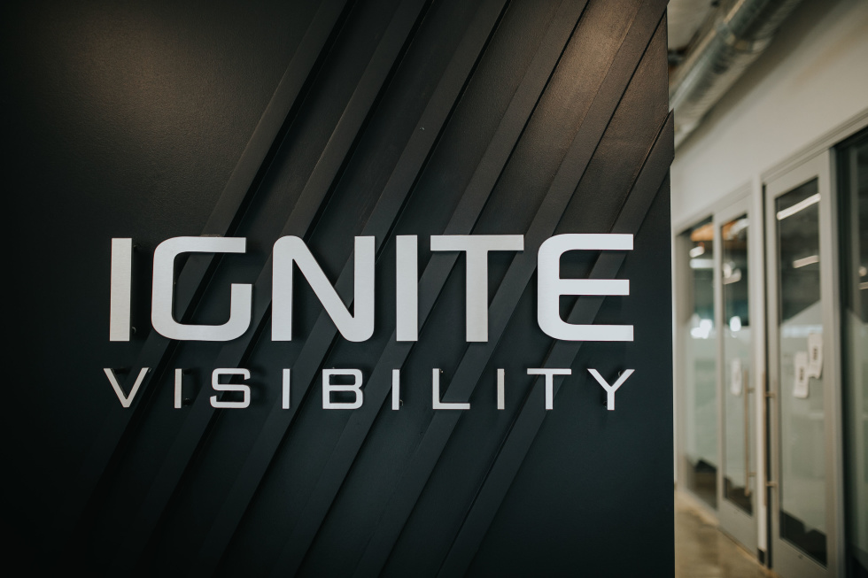 Image of Ignite visibility sign