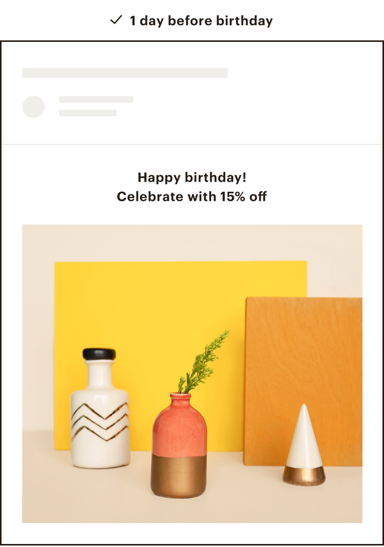 An example of a Mailchimp email featuring a coffee inspired tea brand called Teaspressa