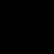 Doodle of a Newton's cradle.