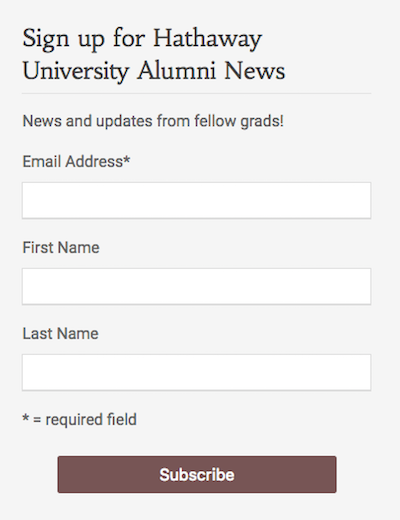 image: screenshot of a sample form created by the plugin