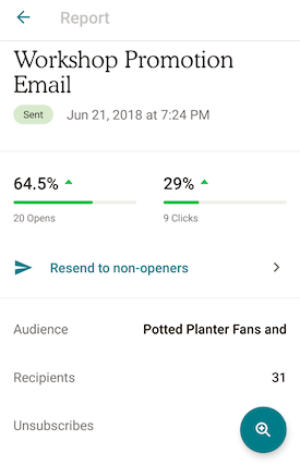 5.7 Mobile Email Report Example