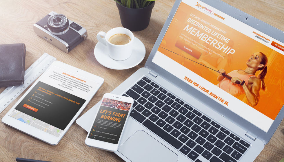 Orangetheory Fitness - Hyper-Local Digital Marketing and Web Design / Development
