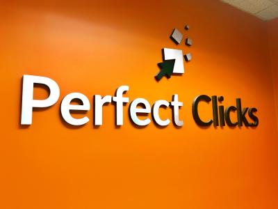 Perfect Clicks office logo