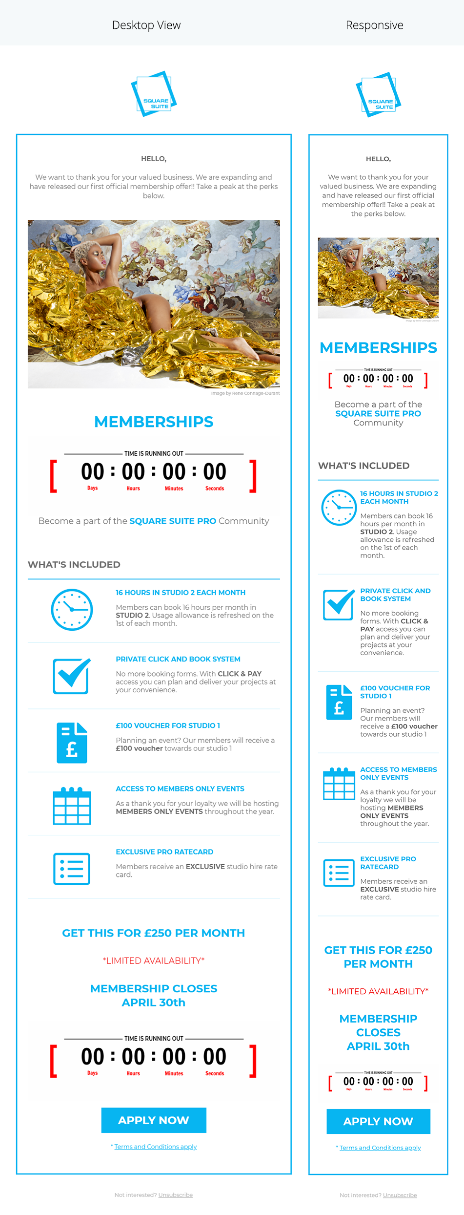 Image of Square Site newsletter