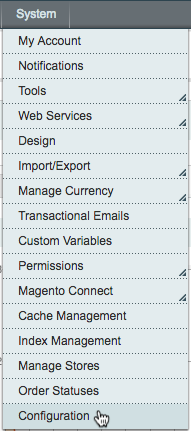 integrations magento mandrill clickconfiguration
