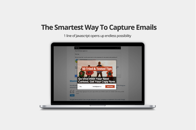 The smartest way to build your email list. Build beautiful opt-in forms that popup to the right user at the right time.