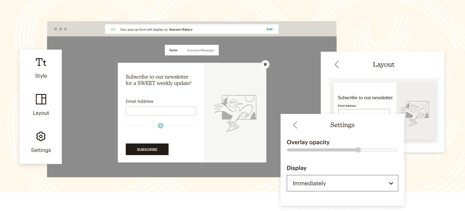 A look at Mailchimp's Signup Forms