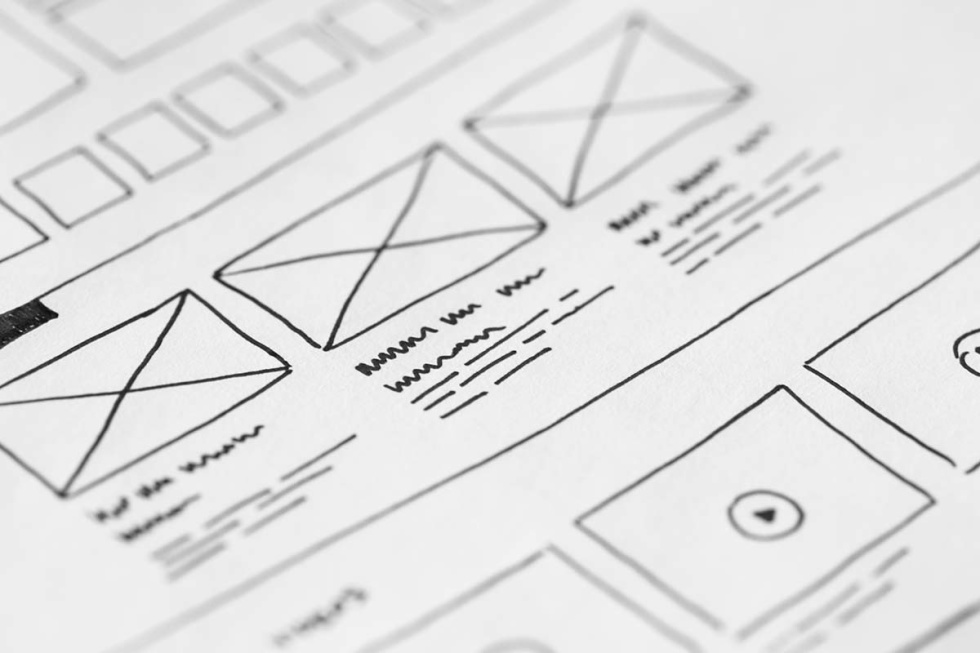Zoomed in illustration of email template.