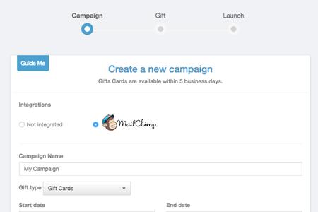 Screenshot of the Appyreward integration