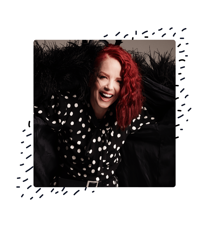 Shirley Manson from The Jump