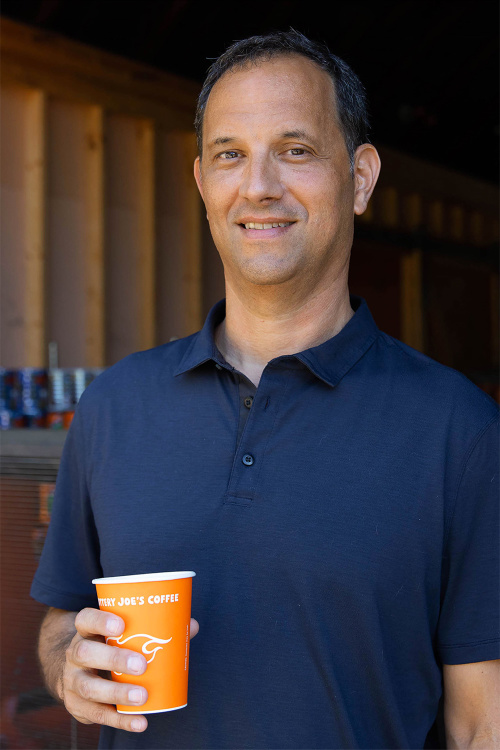 Michael Ripps, Co-Owner of Jittery Joe's Coffee.