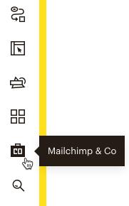 Cursor Clicks - Mailchimp & Co icon - navigation