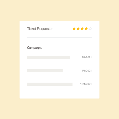 Zendesk Activity Tickets
