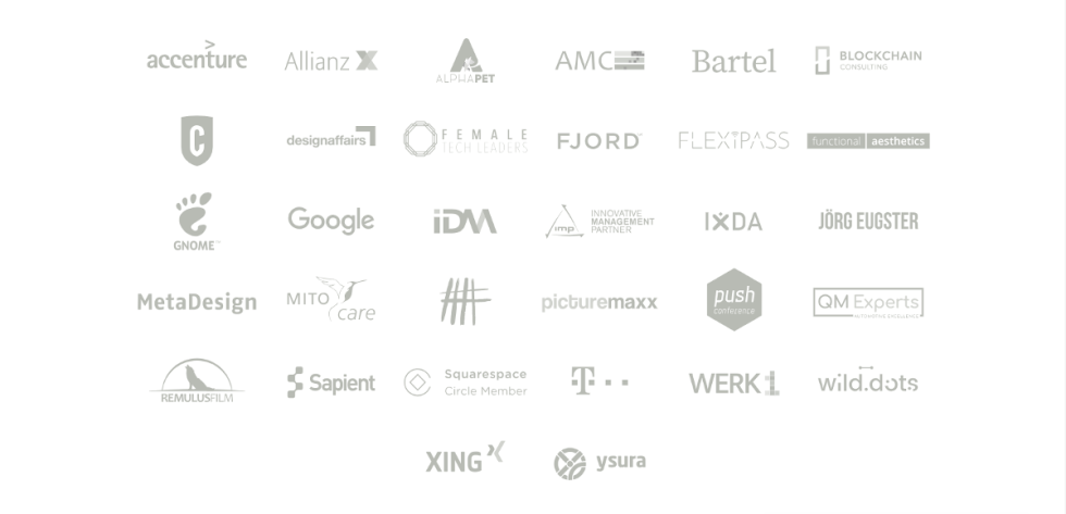Image of multiple companies names