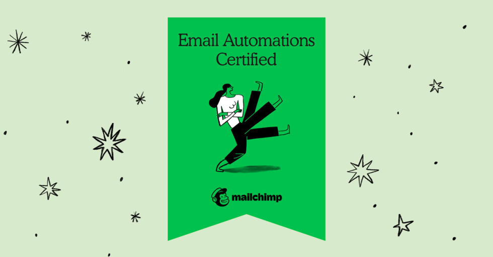 Mailchimp Academy Email Automations Badge