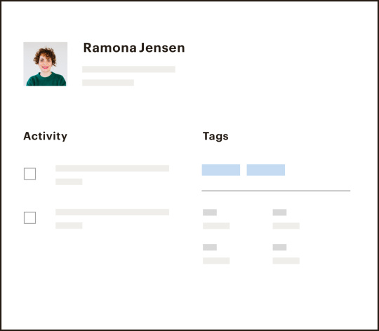 contact profiles