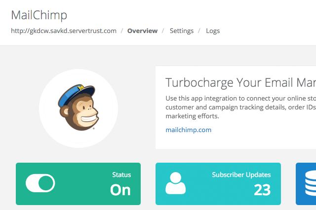 MailChimp App for Volusion_1