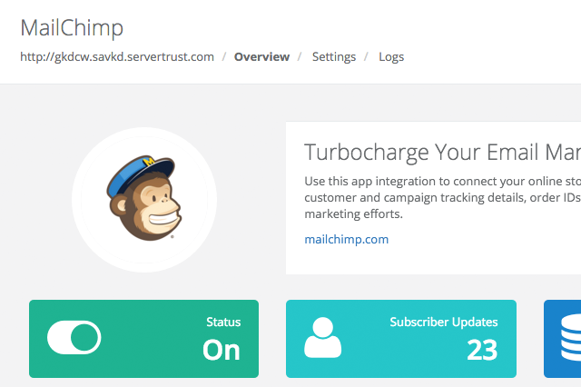 MailChimp App for Volusion_1